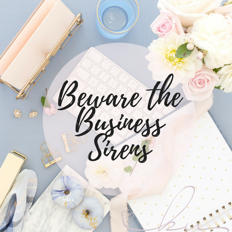 beware the business sirens, elimination experience, elimination diet, business tips, overcoming jealousy, overcoming comparisons, mlm business, mlm, no support, mlm support